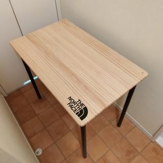 ザノースフェイス(THE NORTH FACE)のノースフェイス 折り畳み テーブル 自作(テーブル/チェア)