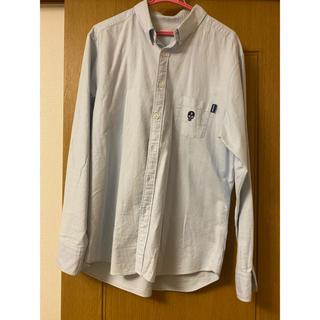 イセタン(伊勢丹)のsun68 ブルー シャツ ワイシャツ XL(シャツ)