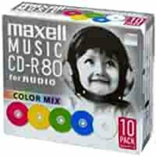 マクセル(maxell)のmaxell 新品未開封/音楽用 CD-R 80分10枚+10枚mmケース入 (その他)