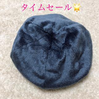 新品同様☆ ポータークラシック   帽子 アーティスト フリース ベレー(ハンチング/ベレー帽)