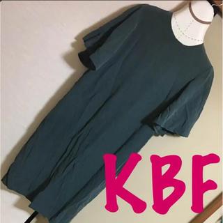 ケービーエフ(KBF)の✴️秋色にチェンジしよう♡ KBF ひざ下ワンピース(ひざ丈ワンピース)