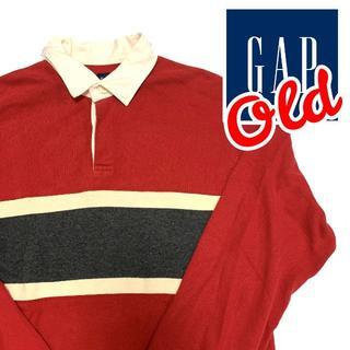 ギャップ(GAP)の90s ~ 00s GAP ギャップ ラグビーシャツ M オールドギャップ (ポロシャツ)