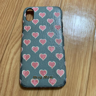ミュウミュウ(miumiu)のミュウミュウ  iPhoneケース(iPhoneケース)