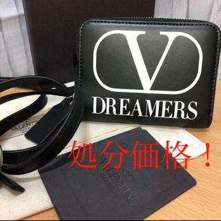 ヴァレンティノ(VALENTINO)の【新品】ヴァレンティノ ガラヴァーニラウンドジップウォレット(折り財布)