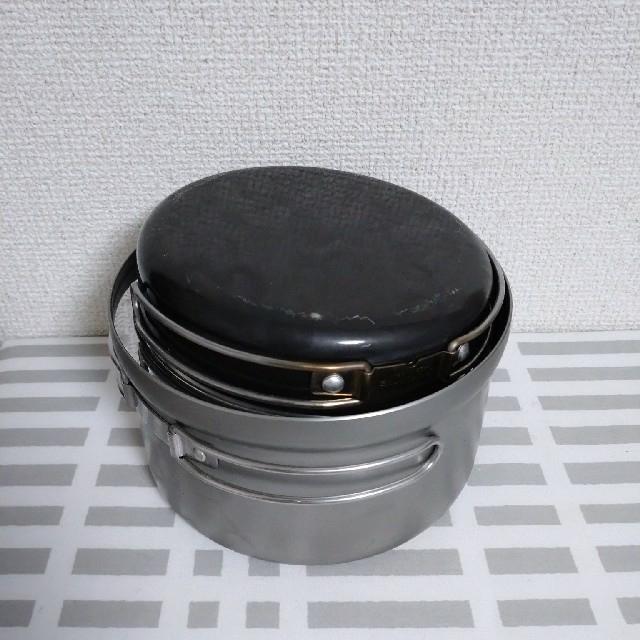 UNIFLAME(ユニフレーム)のユニフレーム  ごはんクッカープラス スポーツ/アウトドアのアウトドア(調理器具)の商品写真