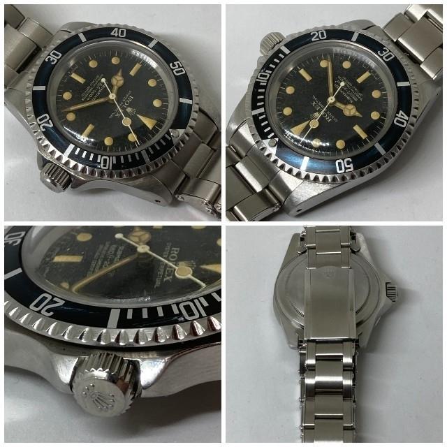 ROLEX(ロレックス)の希少 ROLEX ロレックス 5512 サブマリーナ 1560バタフライローター メンズの時計(腕時計(アナログ))の商品写真