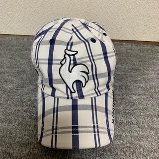 ルコックスポルティフ(le coq sportif)のルコック リバーシブル 帽子 キャップ(キャップ)