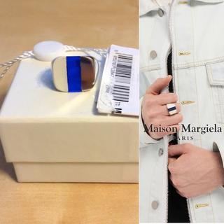 マルタンマルジェラ(Maison Martin Margiela)の新品■M■マルジェラ 19ss■シルバー リング■指輪■9152(リング(指輪))