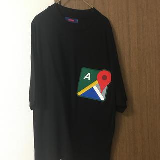 ジョンローレンスサリバン(JOHN LAWRENCE SULLIVAN)のadans GoogleマップTシャツ(Tシャツ/カットソー(半袖/袖なし))