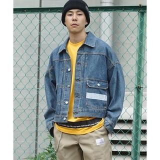 ジエダ(Jieda)のネオンサインneonsign denim jacket used (Gジャン/デニムジャケット)