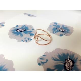 フラワー(flower)のflower❁ハートリング(リング(指輪))