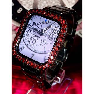 アップルウォッチダイヤカバーベルトセット アップルウォッチカスタムカバー(腕時計(デジタル))