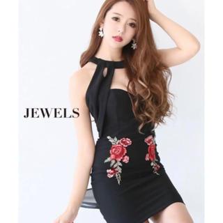 ジュエルズ(JEWELS)の【新品】ブラックタイトキャバドレス♡背中魅せ&谷間魅せ✨(ナイトドレス)