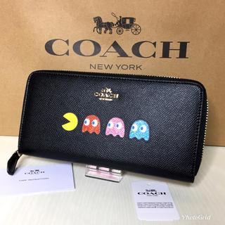 コーチ(COACH)のコーチ 長財布 パックマン  【新品】(財布)