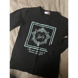 レディー(Rady)のRady ちびロングTシャツ(Tシャツ/カットソー)