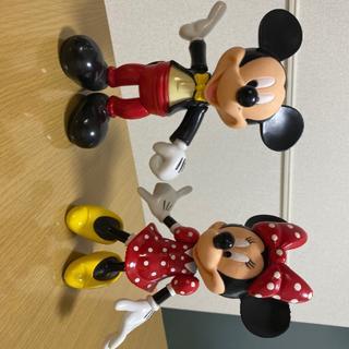 ディズニー(Disney)のミッキー ミニー フィギュア 非売品(彫刻/オブジェ)