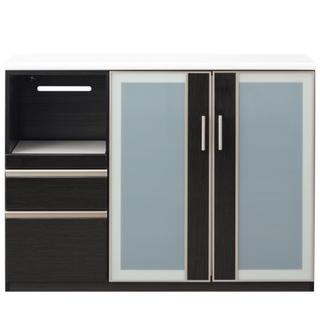 ニトリ(ニトリ)のニトリ ポスティア カップボード キッチンカウンター 食器棚 美品(キッチン収納)