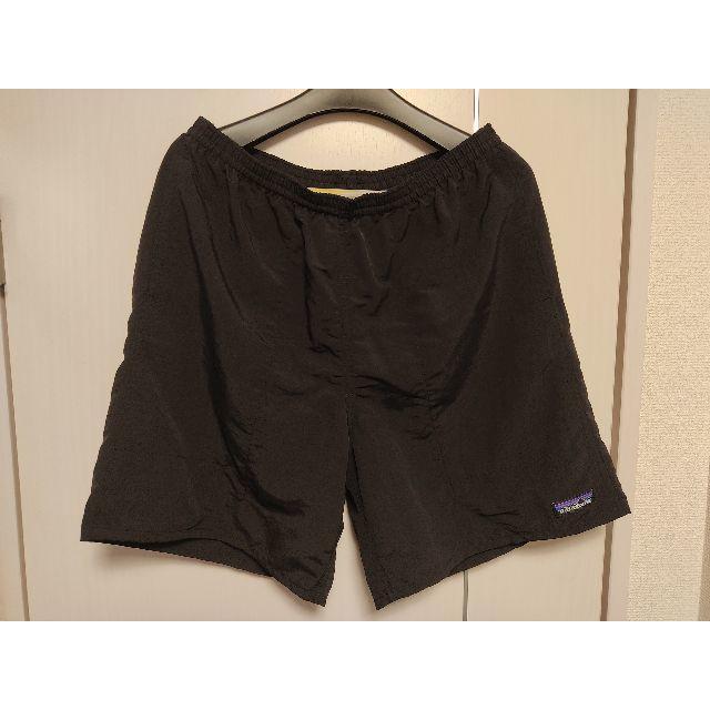 patagonia(パタゴニア)の美品 パタゴニア バギーズ ロング ブラック 黒 M バギー メンズのパンツ(ショートパンツ)の商品写真