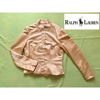 ラルフローレン(Ralph Lauren)のラルフローレン スタンドカラージャケット シルク ビンテージ(テーラードジャケット)