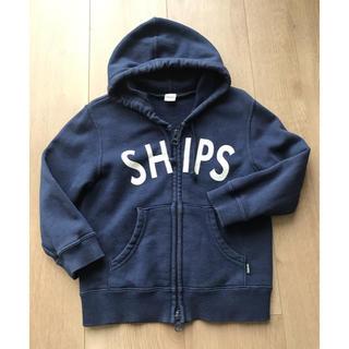 シップス(SHIPS)のSHIPS ネイビーパーカー90cm(ジャケット/上着)