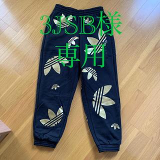 アディダス(adidas)の試着のみ●adidas originals・Mサイズ・黒ゴールドスウェットパンツ(その他)
