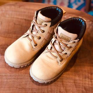 ポロラルフローレン(POLO RALPH LAUREN)のポロラルフローレン ブーツ キッズ 18cm(ブーツ)