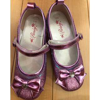 マザウェイズ(motherways)の新品未使用 マザウェイズ   ピンクラメ 靴 19cm(その他)