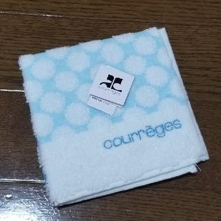 クレージュ(Courreges)のcourreges クレージュ タオルハンカチ(販売期間~11/15まで!)(ハンカチ)