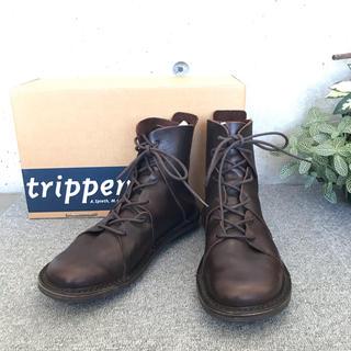 trippen - トリッペン ノマド ダークブラウン サイズ38
