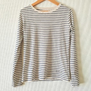 モンベル(mont bell)のmont-bell ボーダー柄長袖Tシャツ(Tシャツ(長袖/七分))