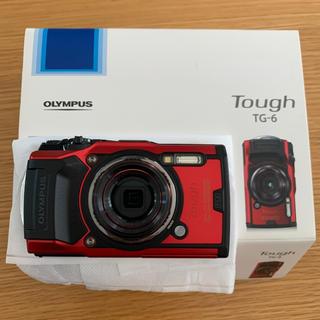 オリンパス(OLYMPUS)のOLYMPUS 新品未使用 OLYMPUS オリンパス TG TG-6 RED(コンパクトデジタルカメラ)