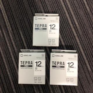キングジム - テプラテープ SS12K