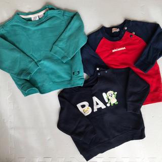 ザラキッズ(ZARA KIDS)の♡キッズ♡ベビー♡ トレーナー90サイズ 3点セット(Tシャツ/カットソー)
