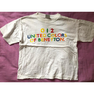 ベネトン(BENETTON)のベネトン130㌢Tシャツ(Tシャツ/カットソー)