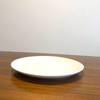 ムジルシリョウヒン(MUJI (無印良品))の磁器 ベージュ皿 大(食器)
