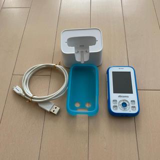 エヌティティドコモ(NTTdocomo)のキッズケータイ HW-01G(携帯電話本体)