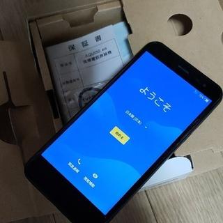 アクオス(AQUOS)のAQUOS ea Black 606SH Softbank(スマートフォン本体)