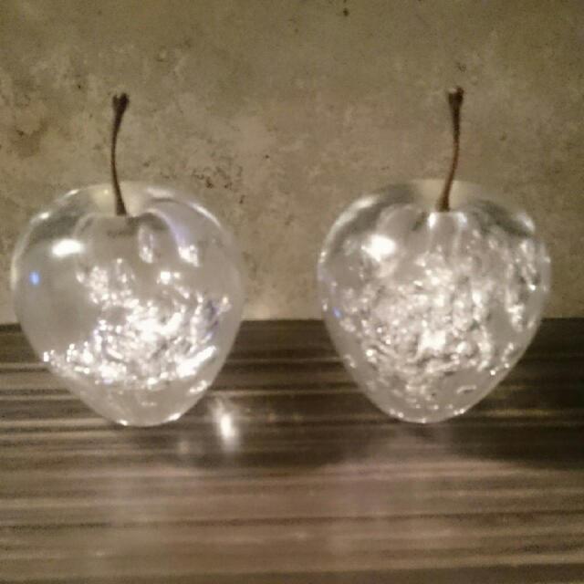 unico(ウニコ)のunico りんご オブジェ インテリア/住まい/日用品のインテリア小物(置物)の商品写真