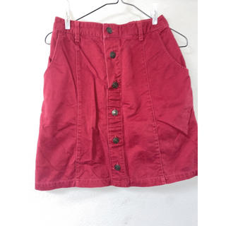 ハニーズ(HONEYS)のコーデュロイスカート 台形スカート デニムスカート(ミニスカート)