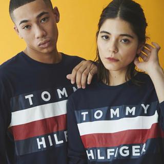 トミーヒルフィガー(TOMMY HILFIGER)の⭕️新品大幅値引き⭕️ Tommy ロンT S (レディースLサイズ相当)(Tシャツ(長袖/七分))
