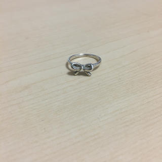 ノジェス(NOJESS)のノジェス ピンキーリング リボン シルバー(リング(指輪))