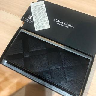 ブラックレーベルクレストブリッジ(BLACK LABEL CRESTBRIDGE)の新品 ブラックレーベルクレストブリッジ 長財布 バーバリー レザーウォレット  (長財布)