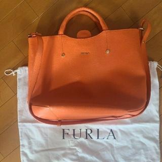 フルラ(Furla)の期間限定価格 フルラ トートバッグ オレンジ ショルダーバッグ(トートバッグ)