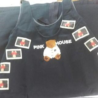 ピンクハウス(PINK HOUSE)のpinkHOUSE デニムスカート(ひざ丈スカート)