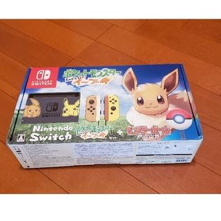 ニンテンドースイッチ(Nintendo Switch)の任天堂 Switch 本体 ポケットモンスター イーブイ 動作確認済 スイッチ(家庭用ゲーム機本体)