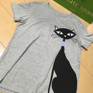 ケイトスペードニューヨーク(kate spade new york)の【店頭販売終了品!!】ケイトスペード 猫ちゃんTシャツ(Tシャツ(半袖/袖なし))