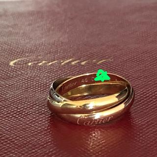 カルティエ(Cartier)のカルティエ トリニティ リング スリーゴールド SM(リング(指輪))