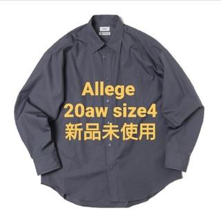 アレッジ(ALLEGE)のAllege. 20aw Standard Shirt - Gray(シャツ)