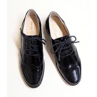 サヴァサヴァ(cavacava)の新品 cavacava オックスフォードシューズ(ローファー/革靴)