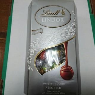 リンツ(Lindt)の1箱600g リンツリンドールチョコレート シルバーアソート(菓子/デザート)